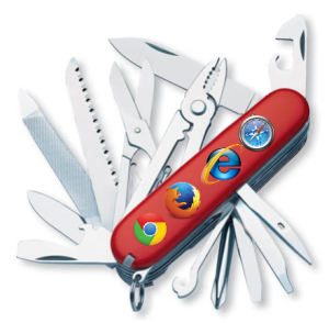 Browser:  Swiss Army Knife of the Web